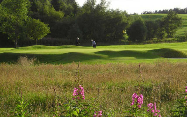 A view of green at Carnwath Golf Club