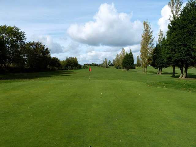 Another example of fine greens at Larkhall Golf Club on the 9th