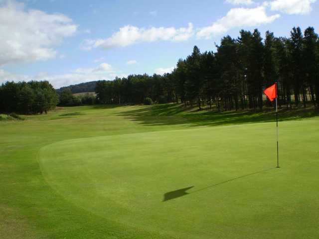 A view of the 10th green at Forfar Golf Club