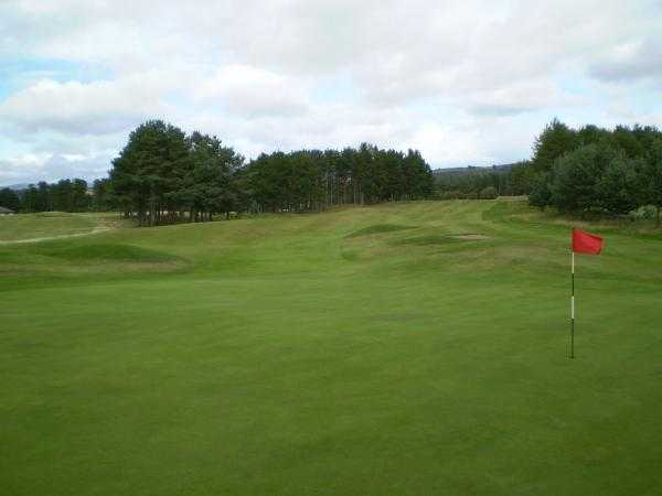 A view hole #17 at Forfar Golf Club