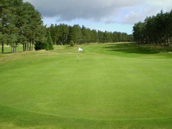 A view green #7 at Forfar Golf Club