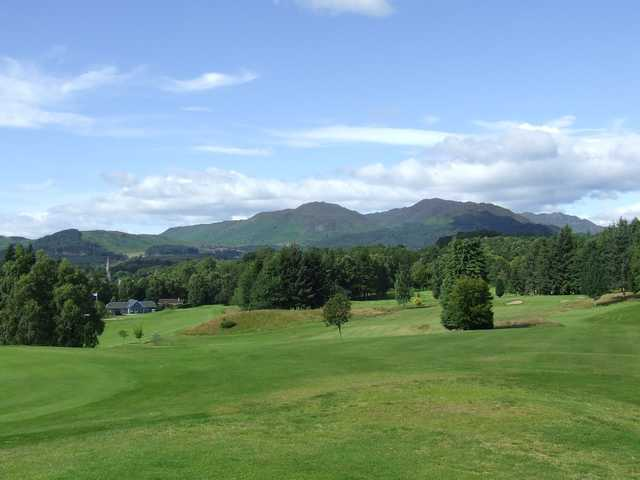 A view from the 4th hole at Comrie Golf Club