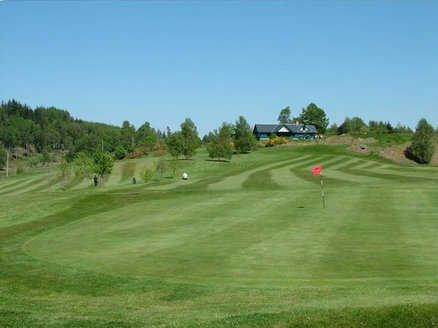 A view of green at Dunkeld & Birnam Golf Club