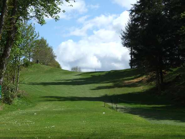 A view from tee #4 at Killin Golf Club