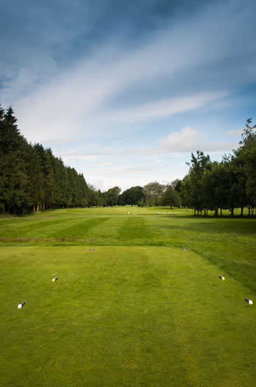 A view from the 10th tee at King James VI Golf Club