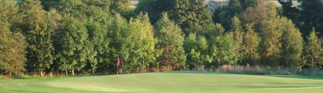 A view of the 18th green at Balfron Golf Club