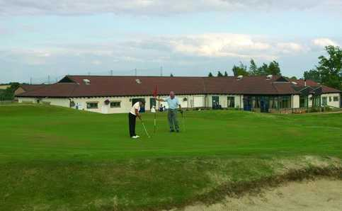 A view from Brucefields Family Golf Centre