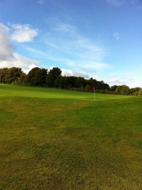 A view of a hole at Brucefields Family Golf Centre