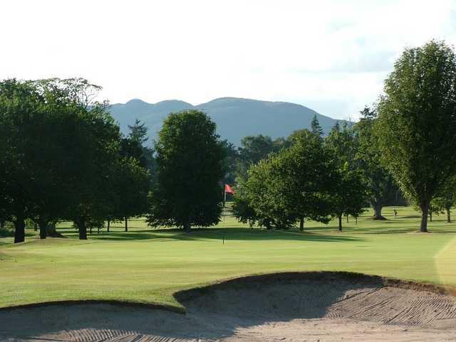 View from Buchanan Castle Golf Club