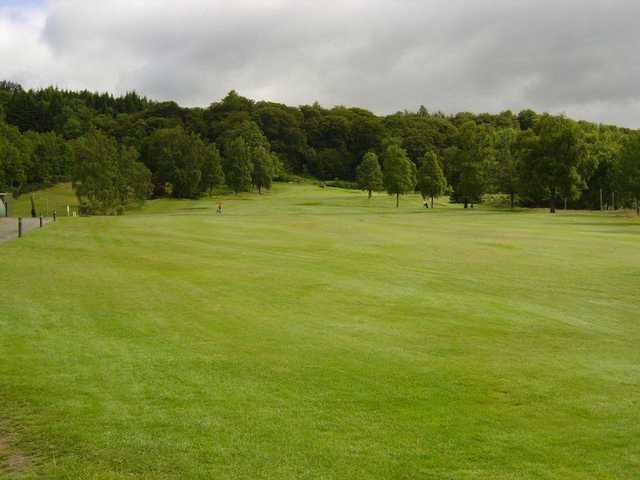 The 1st hole at Callander Golf Club