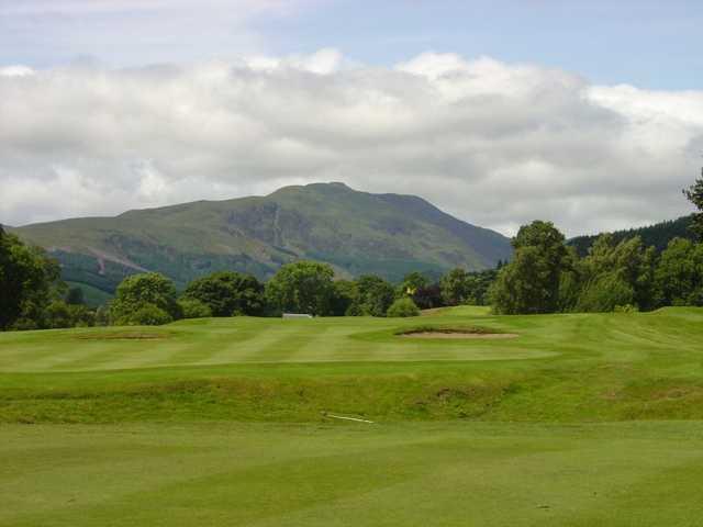 A view of hole #16 at Callander Golf Club