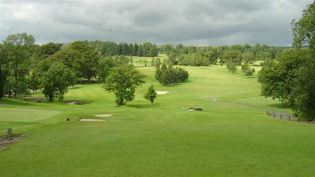 A view from Balmore Golf Club