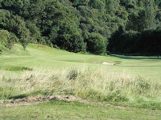 A view of the 6th hole at Glencruitten Golf Club