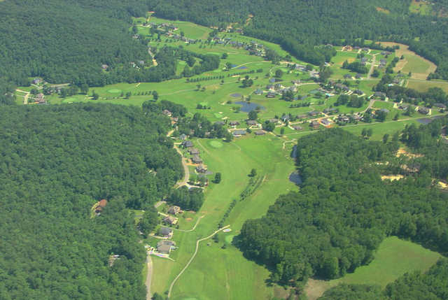Aerial view from White Plains Golf Course
