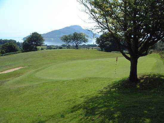 View from Lamlash Golf Club