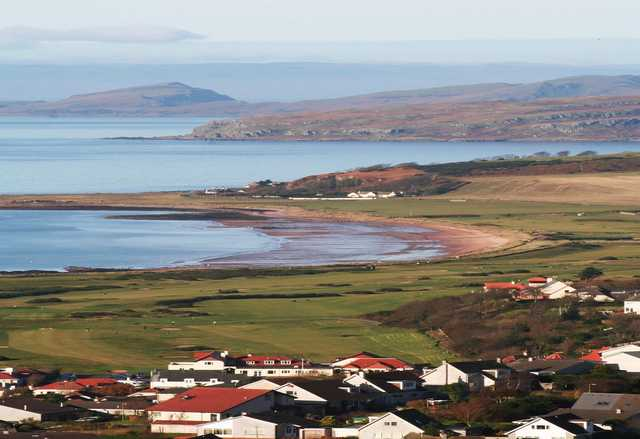 A view from West Kilbride Golf Club