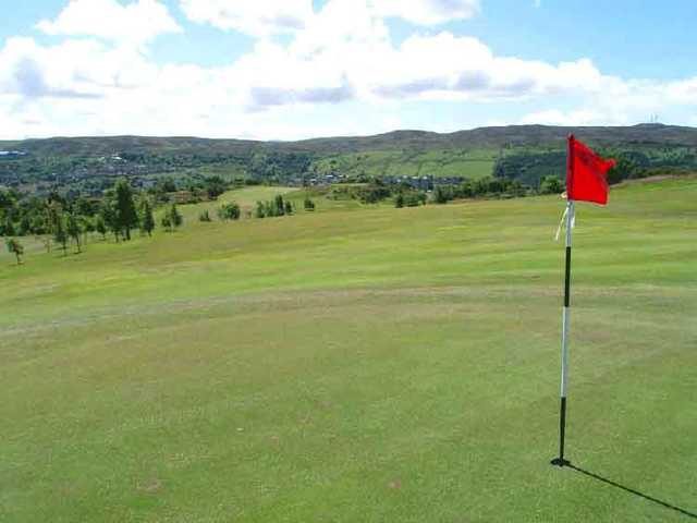 A view of the 12th hole at Championship from Greenock Golf Club