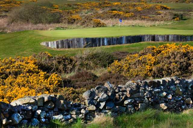 A view of the 4th hole at Barassie Links from Kilmarnock (Barassie) Golf Club