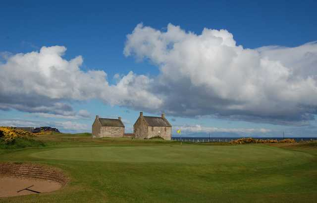 A view of green at Prestwick St Nicholas Golf Club