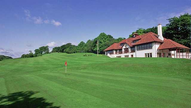 A view of the clubhouse at Merchants Of Edinburgh Golf Club