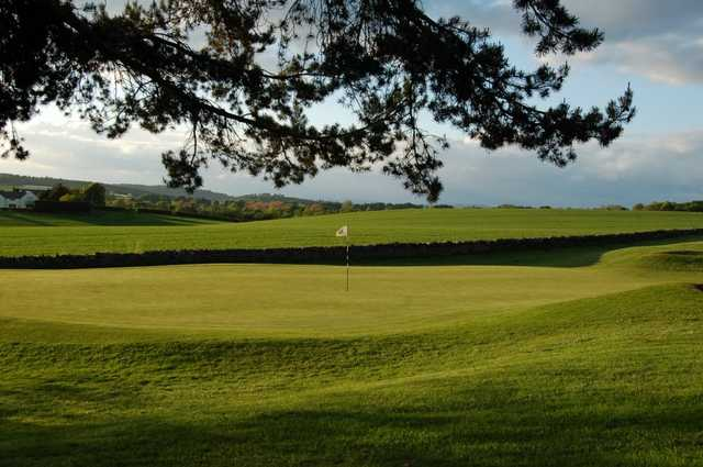 A view of the 3rd green at Turnhouse Golf Club