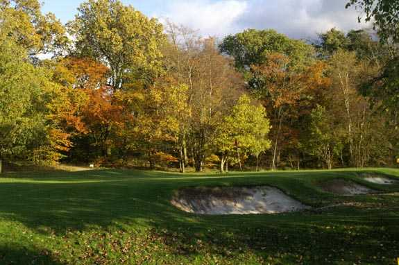 A view of hole #4 at Loudoun Gowf Golf Club