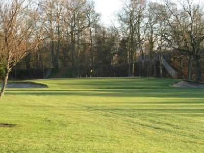 A view of the 5th hole at Bellshill Golf Club