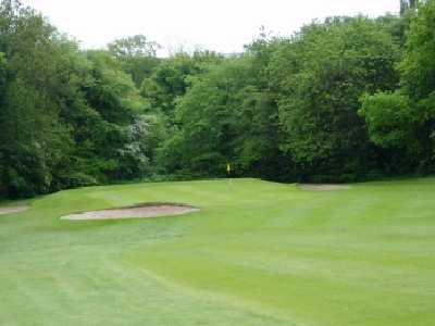 A view of green #6 at Bellshill Golf Club