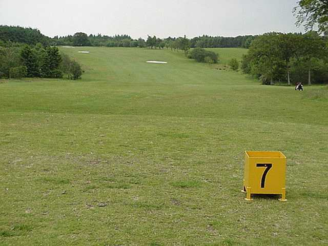 A view of fairway #7 at Palacerigg Golf Club