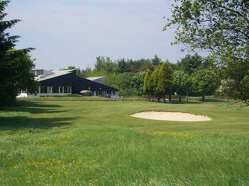 A view of the clubhouse at Palacerigg Golf Club