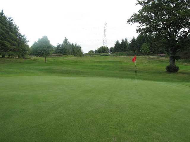 A view of hole #15 at Paisley Golf Club