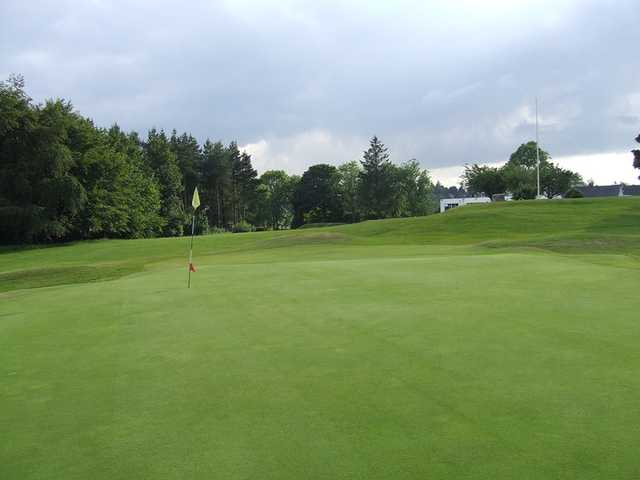 A view of hole #1 at Cathcart Castle Golf Club