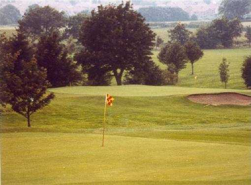 A view of green #5 at Clydebank and District Golf Club