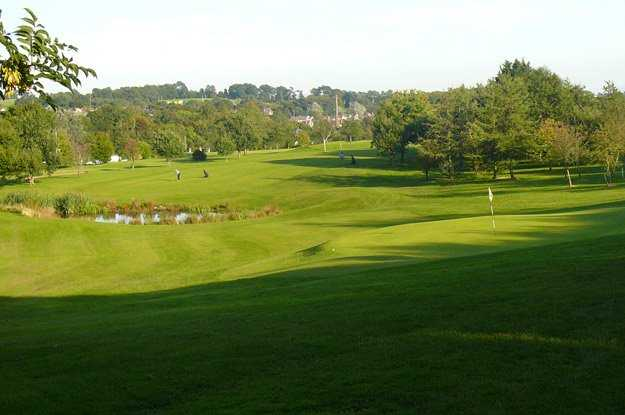 A view of the 16th hole at Banbridge Golf Club