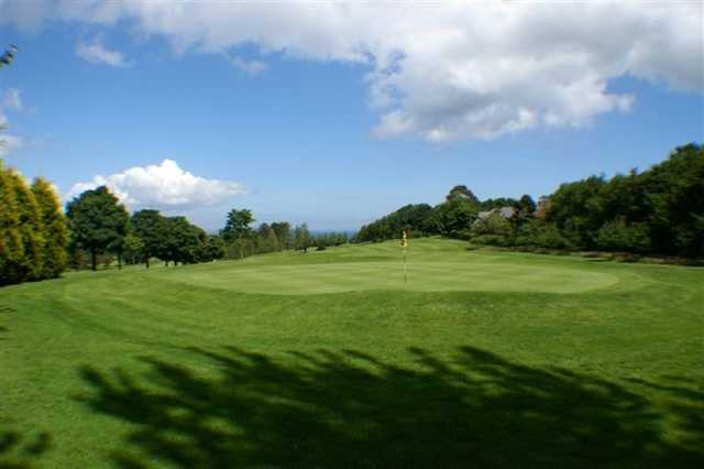 A look back from the 11th green at Bangor Golf Club