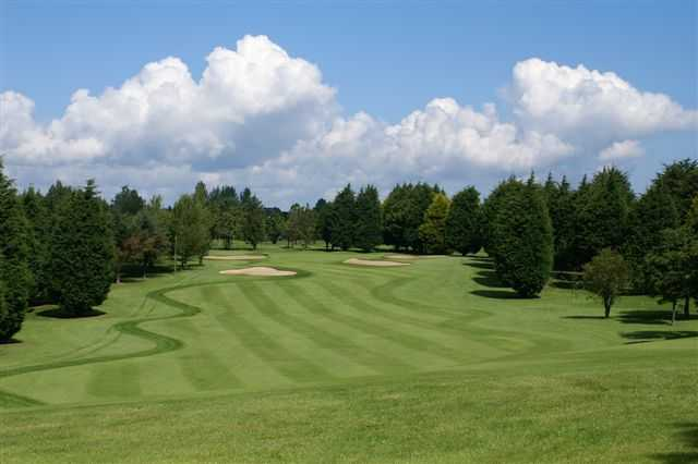 A view of the 2nd fairway at Bangor Golf Club