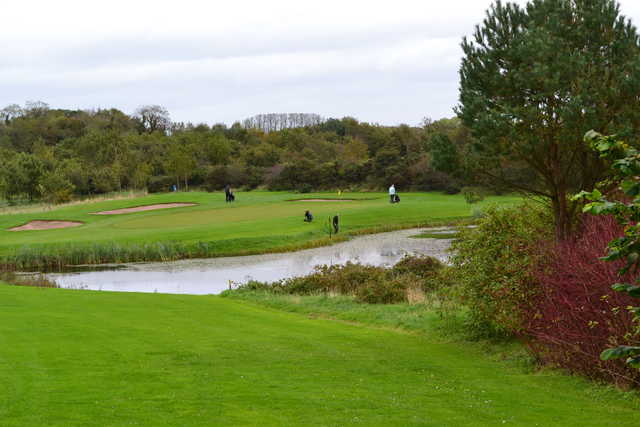 A view from tee #12 at Hamilton Course from Blackwood Golf Centre