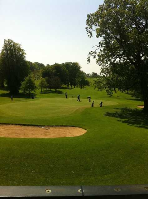 A sunny view of green at Edenmore Golf and Country Club