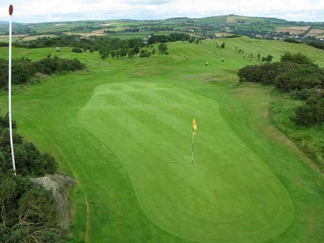 A view of hole #11 at Scrabo Golf Club