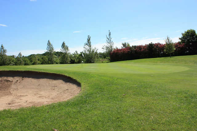 A view of the 15th hole at Spa Golf Club