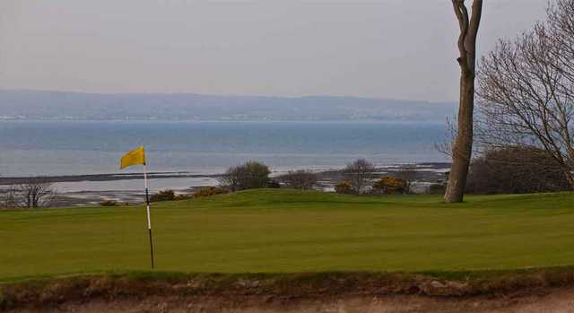 A view of hole #14 at Royal Belfast Golf Club