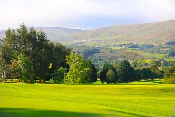 A view of the 11th hole at Warrenpoint Golf Club