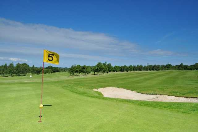 A view of the 5th hole at Killerig Castle Golf & Country Club