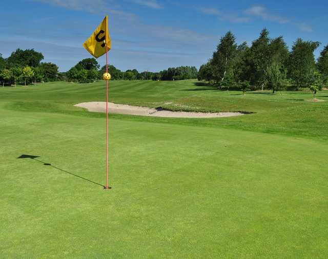 A view of hole #2 at Killerig Castle Golf & Country Club