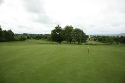 A view of a hole at Carlow Golf Club