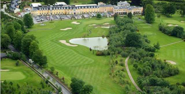 Aerial view from Mount Wolseley Golf & Country Club