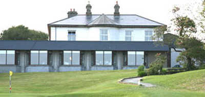 A view of the clubhouse at County Cavan Golf Club