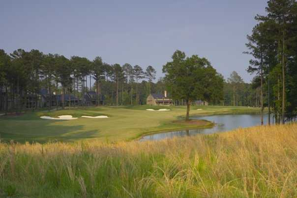 A view of fairway #9 at Player Creek Nine from Champions Retreat Golf Club