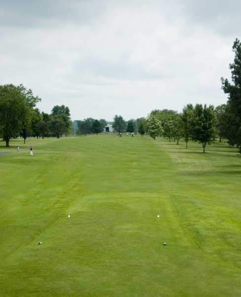 A view from tee at Cole Acres Country Club