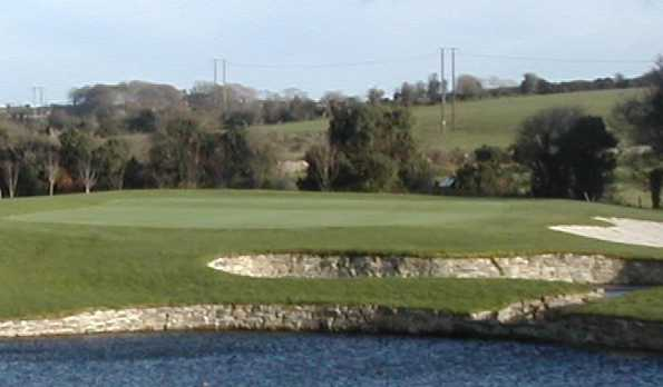 A view over the water of the 11th hole at East Cork Golf Club